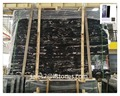 Natural marble price chinese stone black with white veins black marble tile 300X300