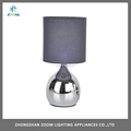 three level touch sensor brightness dimmable fabric shade bedside dressing table lights