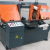 Performance Cutting Hydraulic Feeding Upright Metal Cutting Bandsaw