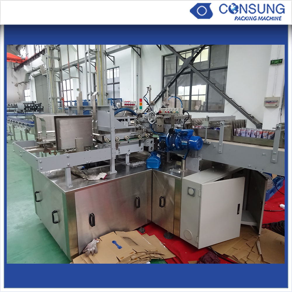Fully Automatic Tray Forming Wrap Around Case Packer