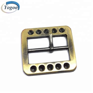 Promotional customized brass auto hardware belt buckle for bags / shoes