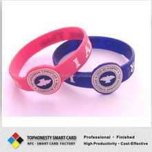 Logo Promotion Silicone RFID Wristband Event Ticketing Funny Wristband