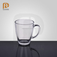 wholesale cheap glassware home goods with handle tea cups