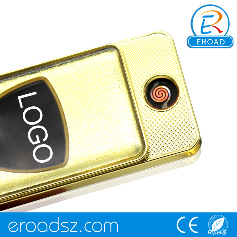 Good Quality Cheap Price Safe Windproof Flameless Eletronic Lighter With Usb Charging Port
