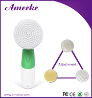 New Arrival 4 In 1 Face Massager Rotating Electric Facial Cleansing Brush
