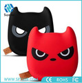 Latest fashion cute hot selling cartoon power bank with cool emoji
