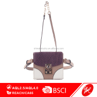 Fashion ladies cross body PU leather shoulder bags
