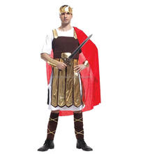 Adults Man Party medieval army costume fancy Roman soldier costumes