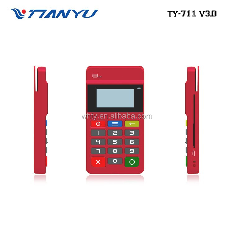 Hot sale EMV chip & PIN , mpos terminal pos with RFID/NFC smart card keyboard