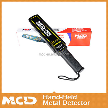Mini Metal Detector Sales/Metal Detecto/Used Hand-held metal detector/MCD-2008
