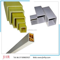 GRP hollow square and round tube for industry