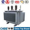 Outdoors and Three phase 100 kva 400v 33kv oil-immersed step up transformers