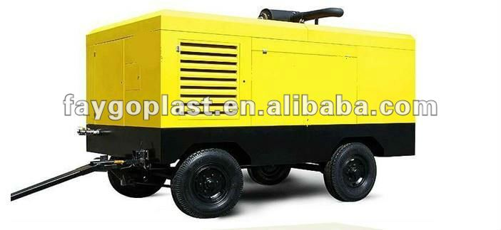 CE and ISo electric Portable rotary screw air compressor