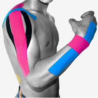 Kinesiology therapeutic muscle pain relief sports muscle tape