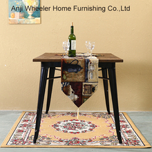 Chinese Industrial stainless steel Ironing Factory dining Cafe Table And Stools with wooden desktop