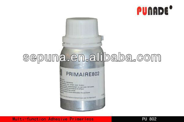 Primer for PU adhesive, coupling agent for polyurethane adhesive and sealant