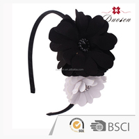popular flowers hair bow headbands,wholesale hair accessories with rhinestone