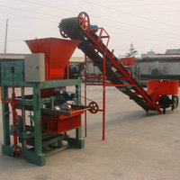 fully automatic hydraulic brick machine for small plant