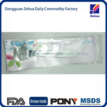 china supplier semi transparent pvc pouch