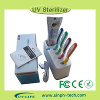 2015 Family type UVC toothbrush sterilizer holder TB-3 with factory price