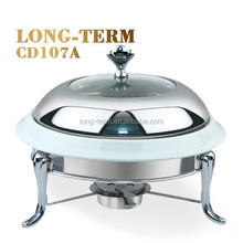 CD107A new brass stainless steel chafing dish