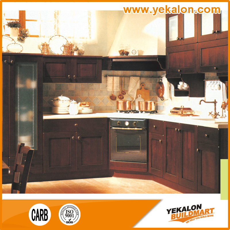 Customizable solid wood cheap kitchen cabinet buy cheap for Inexpensive wood kitchen cabinets