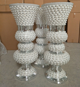 36 inch tall Polyresin goblet wedding deocration event vase for party / hotel/event mosaic decor