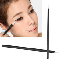 50Pcs Disposable Eyeliner Eye Liner Liquid Wand Applicator Brush Cosmetic Make up Brushes Tool Hot Big Sales 2017 New