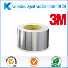 3M 363 Glass Cloth Tape, reinforced Aluminum Foil Tape,heat resistant fiber glass tape
