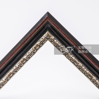 Antique picture and photo hand painting frame moulding wood