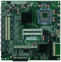 G41 Xeon cpu motherboard with 6 lan ports,OEM factory