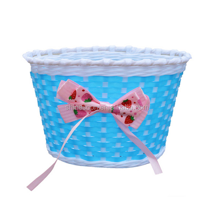 Handmade Bicycle Baskets : China supplier handmade bicycle basket plastic baby
