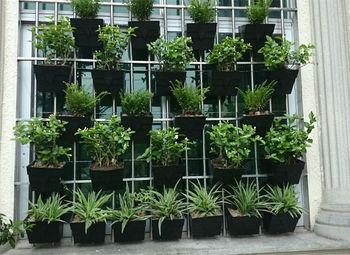 Outdoor Garden Wall Vertical Planters Plastic Buy