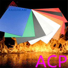 Hot-Selling b1 class fireproof aluminum composite panel acp