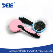 Pet Accessories Comfort Grip Hair Brush with Ultrasonic Welding Technology