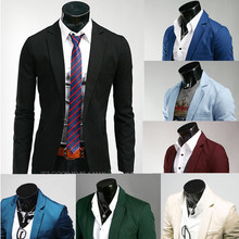 RT Free Shipping New Candy color Men's Jackets Casual Slim Fit Blazer Outwear CoatSuits for Men PX01