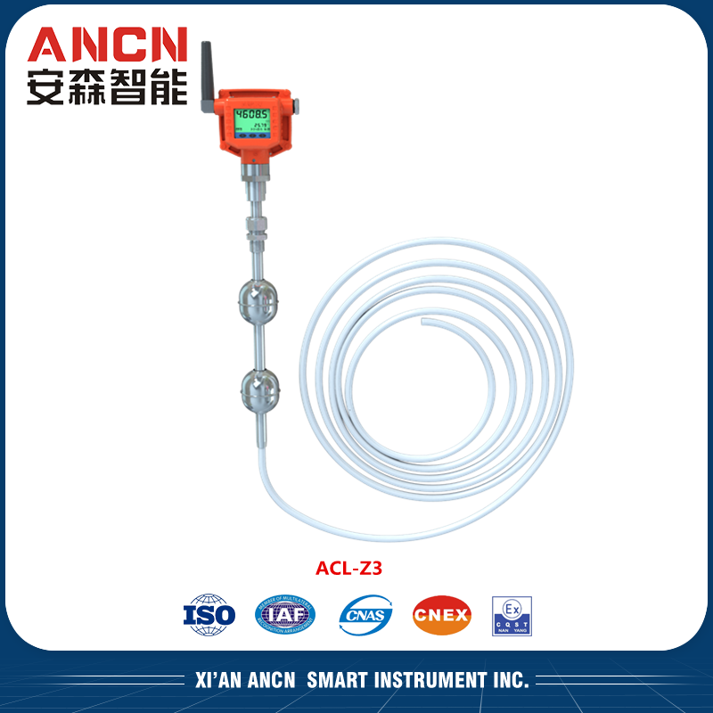 Wireless Gas level indicator for industrial field ACL-Z3