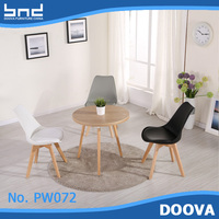 wholesale plastic chairs with leather cushion