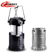 CYSHMILY Wholesale Outdoor Plastic Camping Equipment,30 LED Camping Lantern LED Camping Light