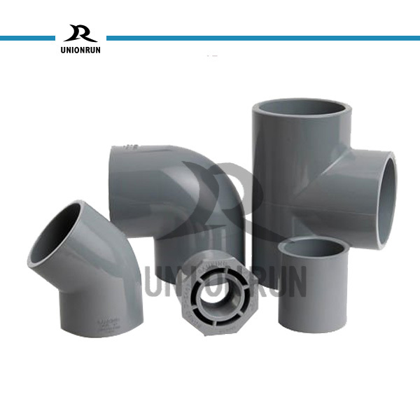 Din standard of pvc pipe <strong>fitting</strong> grey