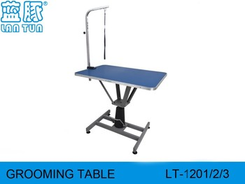 Hydraulic Dog Grooming Table Rectangular