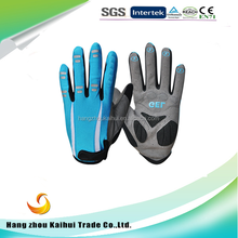 Manufacturer Whole sale cycling bike Long Finger Gloves