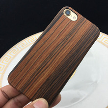 Bass Wood Phone Cover, Wooden Cell Phone Case for Iphone 7 7plus, Oem Order Accepted