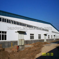 steel structure sandwich wall panel prefabricated house