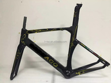 Light weght chinese carbon road bicycle frame colnago concept bike frame