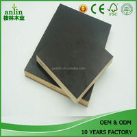 15mm Brown Melamine Laminated Film Faced Plywood Timber