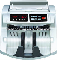 Professional Bank Note Counter Money Counting Machine with UV+MG1/MG2+IR+SIZE detection Suitable for Multi Currency