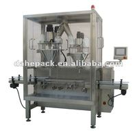 Automatic Dual Heads Auger Type Powdered Milk Metering Cans Filling Machine
