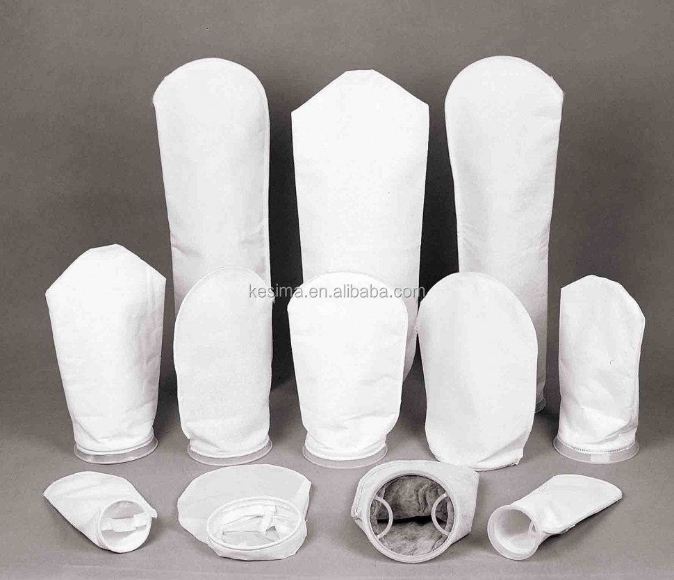 1um dust collector filter bag PP / PET / Nylon Liquid Fiter bags for prefiltration / gross filtration