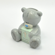Personalized teddy bear wholesale mini ceramic piggy banks